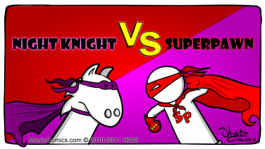 Hero Week 3, NIGHT KNIGHT Vs. SUPERPAWN