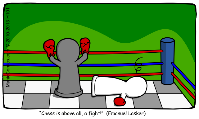 Chess is above all, a fight!